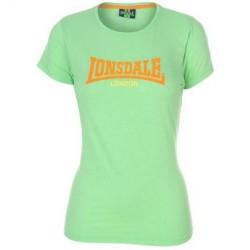 Dámské tričko Lonsdale 73 zelené velikost S