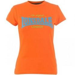 Dámské tričko Lonsdale 93 oranžové velikost S