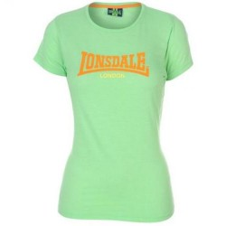 Dámské tričko Lonsdale 73 zelené velikost L