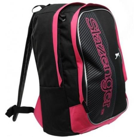 Batohy > Batoh Slazenger 41 černo-růžový