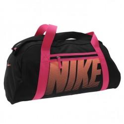 Kabelka Nike Gym Club 20 černá s růžovou
